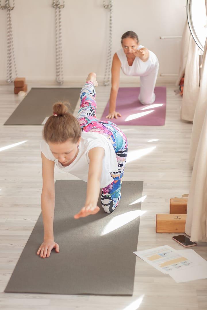 Полезное про йогу